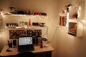 decoracao-do-quarto-luzes-de-natal