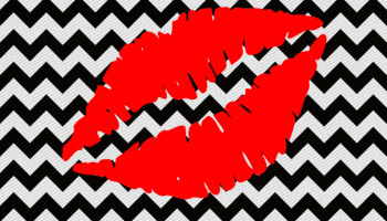 imagem-para-quadrinho-plano-de-fundo-zig-zag-preto-e-branco-boca-vermelho-beijo-blog-dikas-e-diy