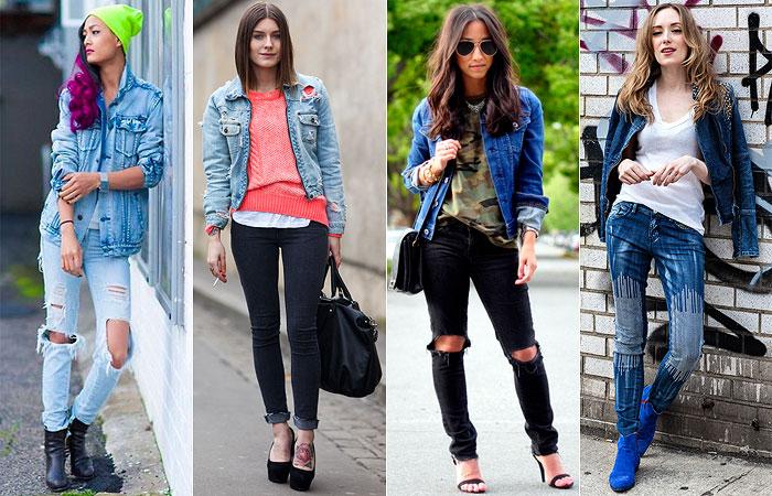 jaqueta-jeans-com-calça-jeans-rasgada