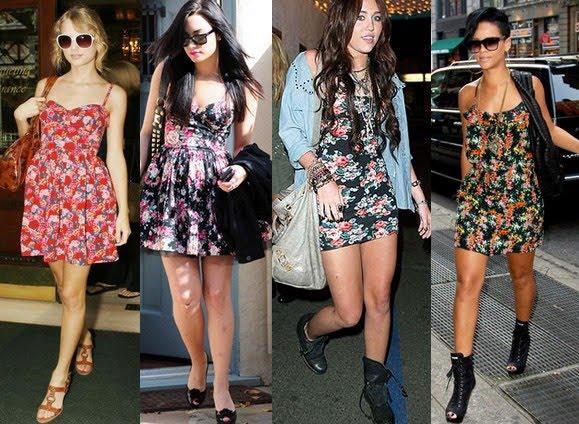 looks-com-vestidos-floridos-curtos-da-moda