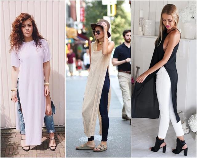 blusas com fendas na lateral - samifobia - maxi tee 3